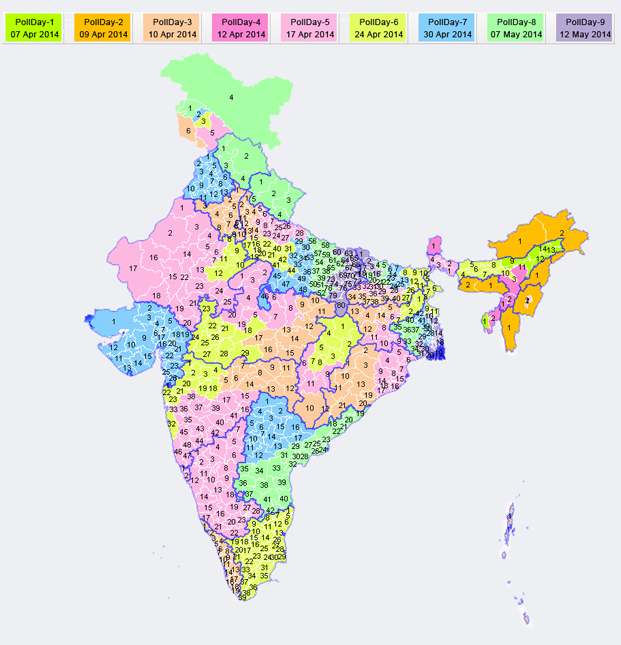India Sets General Election Date as Political Tide Shifts ...