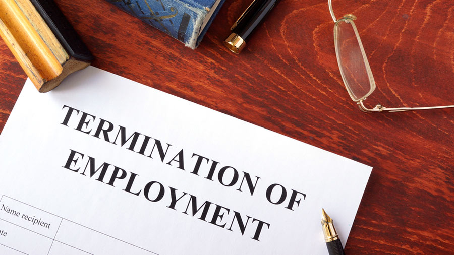 Image result for Even on job termination, you have some rights as an employee of the organization