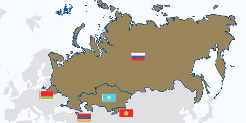 EAEU map
