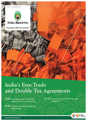 Indias FTA and DTAAs Magazine Cover