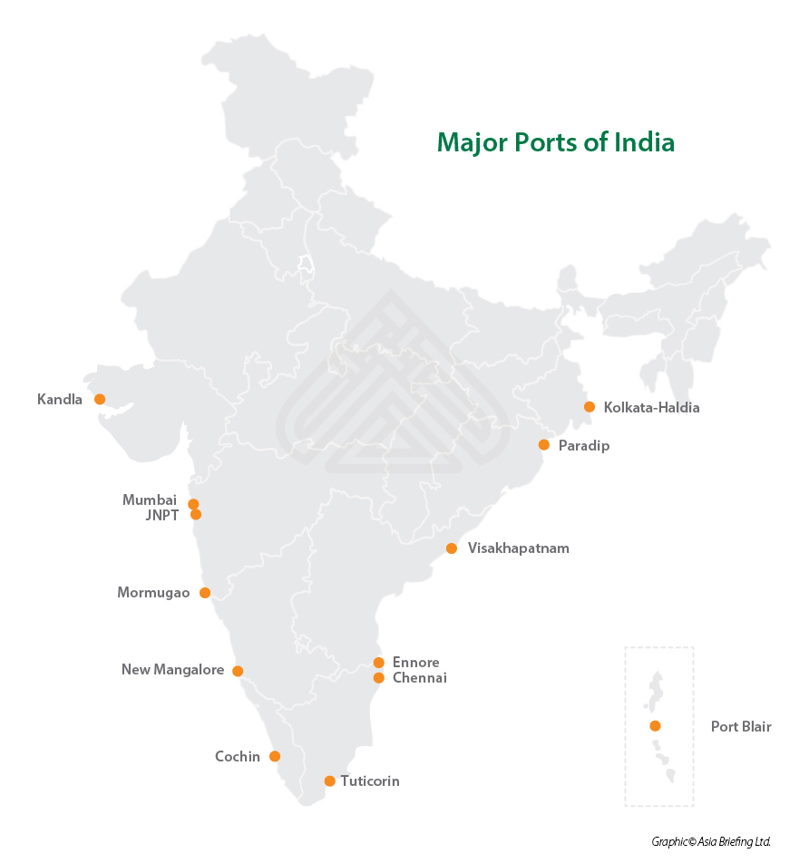 India map for IB 2014 4 issue