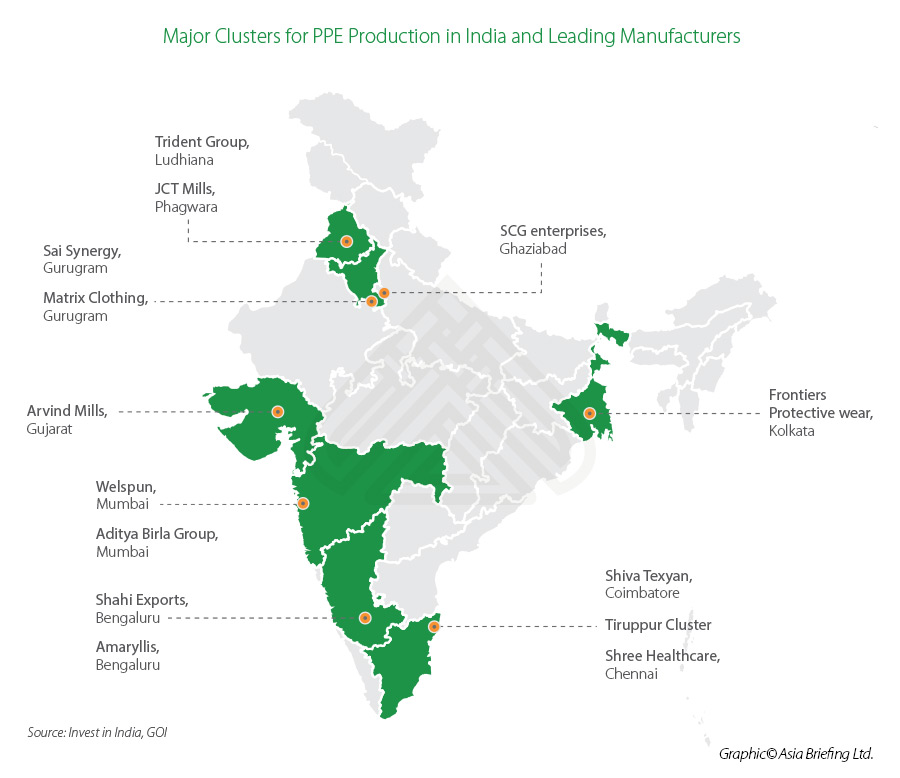India-PPE-production-locations